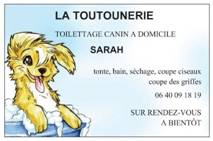 La Toutounerie, toilettage canin à domicile à Gouzon
